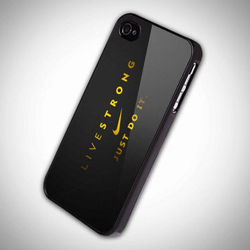 just do it live strong sport  TM00 iPhone 5 Case  by DeluxeCase