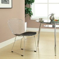 Modway CAD Dining Side Chairs - Set of 2 - Black | www.hayneedle.com