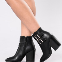 Buckle Down Boot - Black