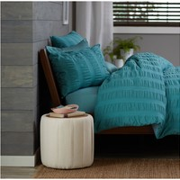 Pinzon Seersucker Duvet Cover Set