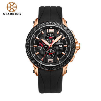 STARKING Men Multi-Functional Swiss Movement Sports Watch