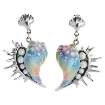 Franz Collection Seashell Earrings