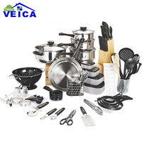 Cooking Pots And Pans-Set 80 Pieces