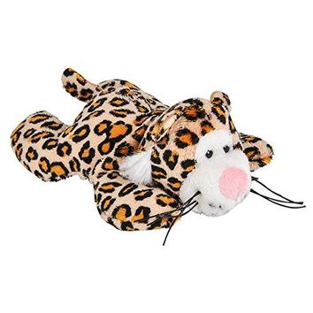Wildlife Tree 3.5 Inch Cheetah Mini Small Stuffed Animals Bulk Bundle of Zoo Animal Toys or Jungle Safari Party Favors for Kids Pack of 12
