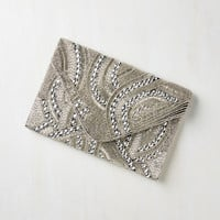 Vintage Inspired Let it Bead Clutch by ModCloth