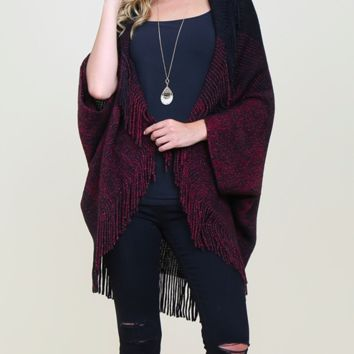 Fringe Cardigan One Size