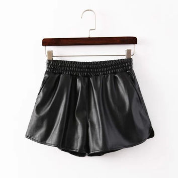 Winter Split Pants Casual Women's Fashion Shorts [6048824705]