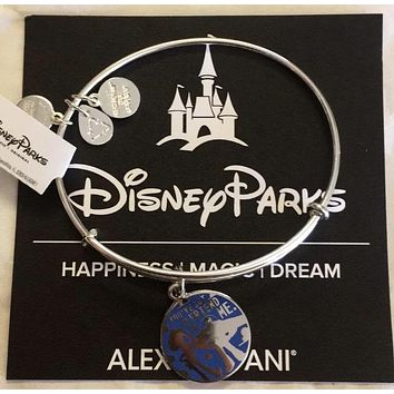 Disney Alex and Ani Toy Story Buzz and Woody Bracelet Silver Finish New with Tag