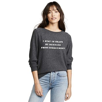 Running from commitment Sweatshirt