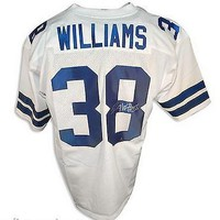 Roy Williams Autographed Throwback Jersey Dallas Cowboys White