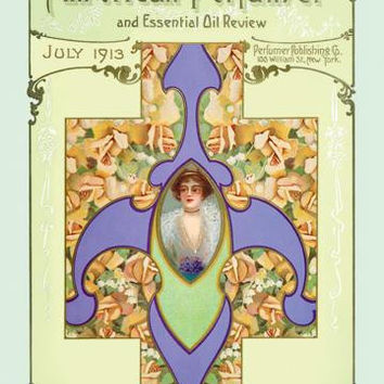 American Perfumer and Essential Oil Review, July 1913 20x30 poster