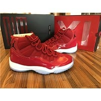 New Air Jordan Retro 11 Gym Red Shoe Mens Basketball Shoes Win Like 96 Retros 11s Men Womens Sports Sneakers Size Us 5.5 13 | Best Deal Online