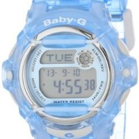 Casio Women's BG169R-2 Baby-G Blue Whale Digital Sport Watch