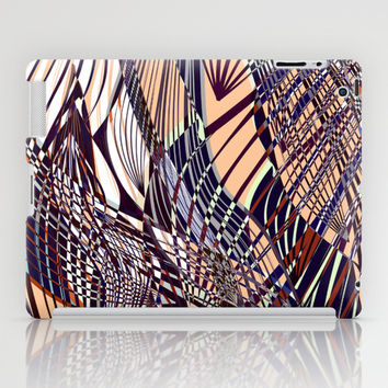 SWEEPING LINE PATTERN I iPad Case by Pia Schneider [atelier COLOUR-VISION]