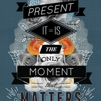 """The Present"" - Art Print by Kavan&Co"