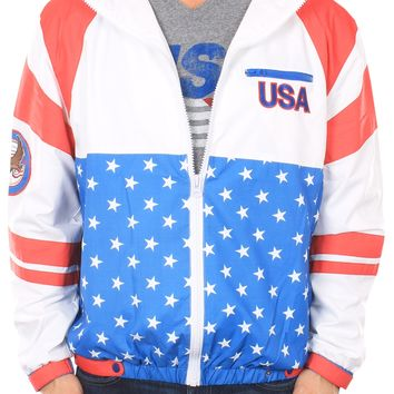 USA Windbreaker | Tipsy Elves