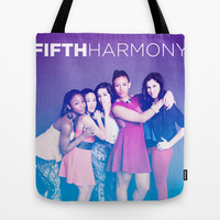 Fifth Harmony Tote Bag by DesignPassion