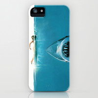 SHARK ATTACK!!! iPhone & iPod Case by hardkitty
