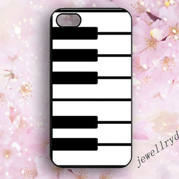 Piano Iphone Case,Piano Keyboard Iphone 4/4s case,Classic Piano Iphone 5/5s case,Iphone 5c case,Black and White Samsung Galaxy S3 S4 S5 Case
