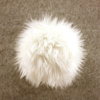 Adorable Soft Snow White Furry Bunny TAIL  - Cosplay - Kawaii - Burning Man - Halloween