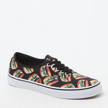aa0ac24b833bfd Vans Late Night Authentic Burger Print Shoes at PacSun.com