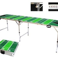 Football Tailgate Beer Pong Table - 8' Long By Simply Sports