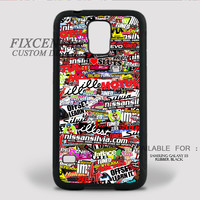 STICKER BOMB Rubber Case for iPhone and Samsung Galaxy by FixCenters
