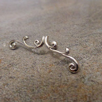 Helix ring,  surgical steel Barbell 16G, Helix ring, 16 Gauge 1.2 mm