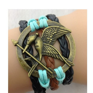 Hunger Games Mocking Jay Bracelet Jewelry