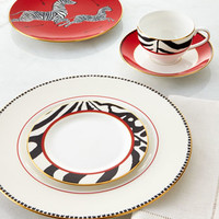 Scalamandre Scalamandre Zebras 5-Piece Place Setting