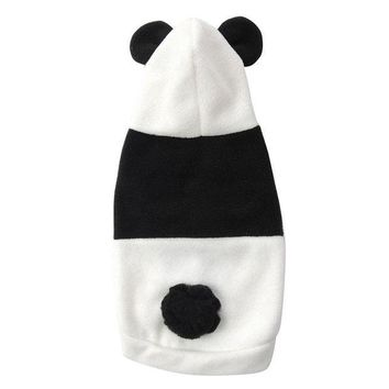 DCCKH6B Hot Fashion Cute Pet Dog Cat Clothes Coat Apparel Puppy Warm Jacket Hoodie Panda Costume
