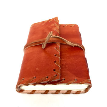 Leather-bound Personal Notebook