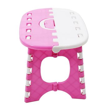 Promotion! Plastic Folding 6 Type Thicken Step Portable Child Stools