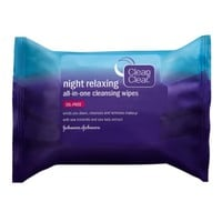 Clean & Clear Night Relaxing All-In-One Cleansing Wipes | Walgreens