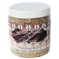 Vanilla Honey and Oats Body Polish Scrub