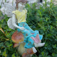 Miniature Fairy Garden Fairy Olivia Limited Edition