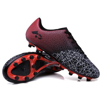 Sufei Football Boots Men Superfly Soccer Shoes FG Kids Children Outdoor Cheap Cleats Sneakers Trainers Big Size