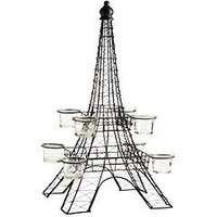 Metal Eiffel Tower Centerpiece