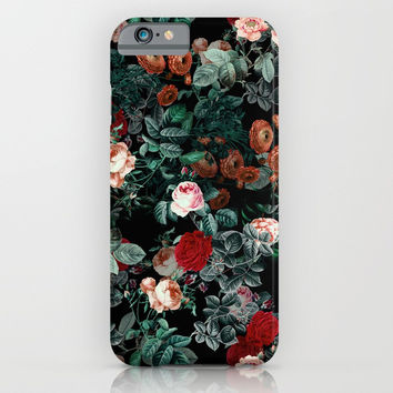 NIGHT GARDEN XXV iPhone & iPod Case by Burcu Korkmazyurek