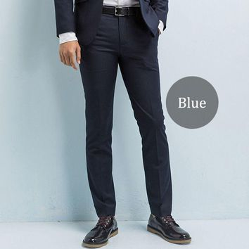 Brand-clothing Men's Suit Pants