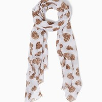 Leopard Love Scarf | Fashion Accessories | charming charlie