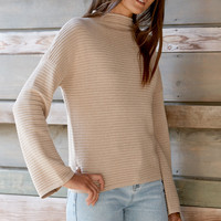 MinkPink Ripple Stitch Pullover Sweater at PacSun.com