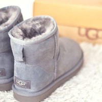 """UGG"" Women Fashion Wool Snow Boots G"