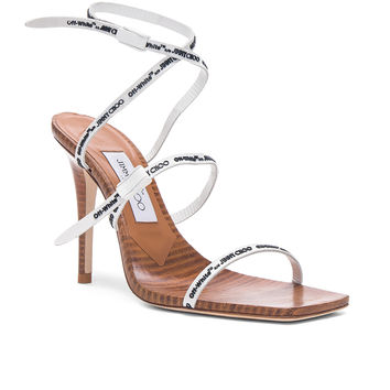 OFF-WHITE x Jimmy Choo Jane Sandal in White | FWRD