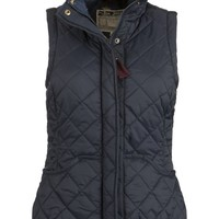 Buy Joules Milham Lightweight Quilted Gilet, Navy online at JohnLewis.com - John Lewis
