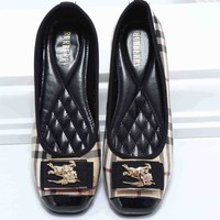 Burberry 2018 trendy women's beautiful wild shoes F-KSPJ-BBDL