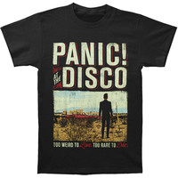 Panic! At The Disco Men's  Album Billboard T-shirt Black