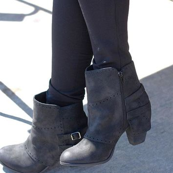 CAROLYN bootie - Black