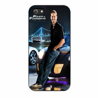 Paul Walker In The Fast And Furious iPhone 5s Case