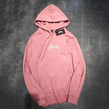 Stussy Woman Men Fashion Top Sweater Pullover Hoodie